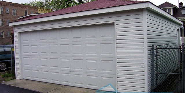 2.5 Car Garage with Hip Roof by Fisher Garage