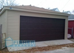 2.5 Car Garage with Hip Roof by Fisher Garages