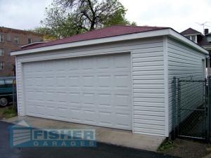 Hip Roof Garage by Fisher Garages