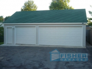 Reverse Gable Garage by Fisher Garages